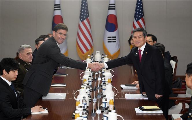 Mỹ - Hàn chưa đạt được thỏa thuận về chia sẻ chi phí quốc phòng (21/11/2019)