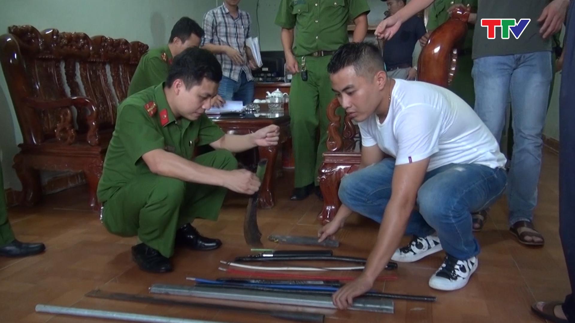 Phòng, chống tội phạm băng, ổ, nhóm ở Thanh Hóa (25/11/2019)