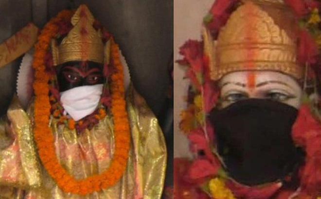 Ấn Độ trước tình trạng ô nhiễm không khí nghiêm trọng: Người dân đeo khẩu trang cho tượng thần (12/11/2019)