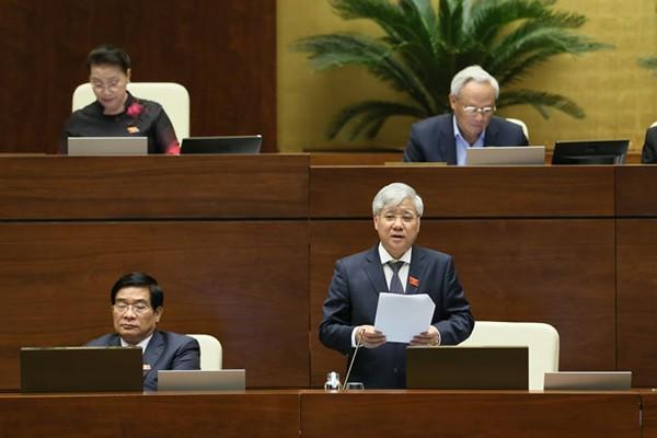 Nội dung các phiên chất vấn tại Kỳ họp thứ 8, Quốc hội khóa 14 (4/11/2019)