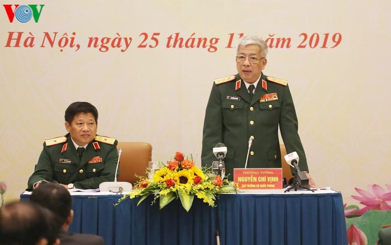 THỜI SỰ 21H30 ĐÊM 25/11/2019: Sách trắng Quốc phòng Việt Nam năm 2019 công bố chiều nay khẳng định nền quốc phòng Việt Nam là hòa bình và tự vệ.