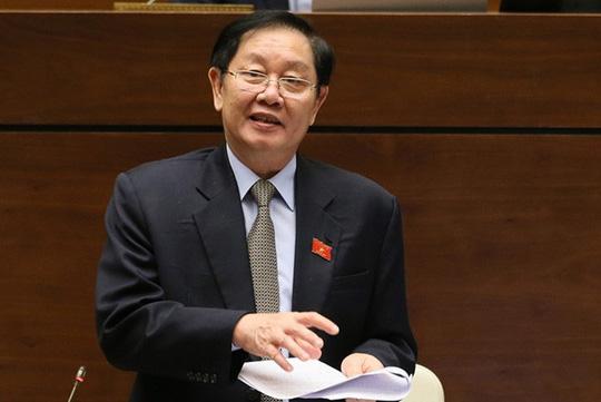 Công tác cán bộ qua phiên trả lời chất vấn của Bộ trưởng Bộ Nội vụ (8/11/2019)