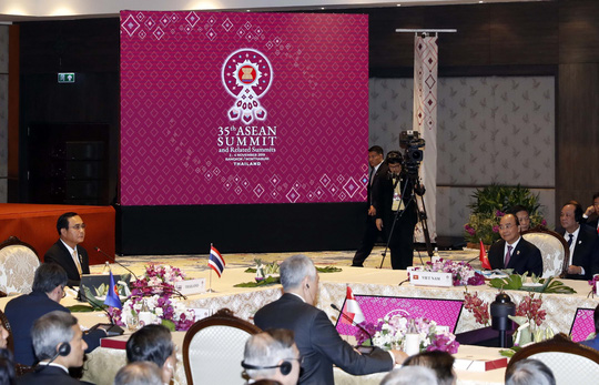 """Hội nghị Cấp cao ASEAN lần thứ 35 và các Hội nghị liên quan với chủ đề """"Tăng cường quan hệ đối tác vì sự bền vững"""" (4/11/2019)"""