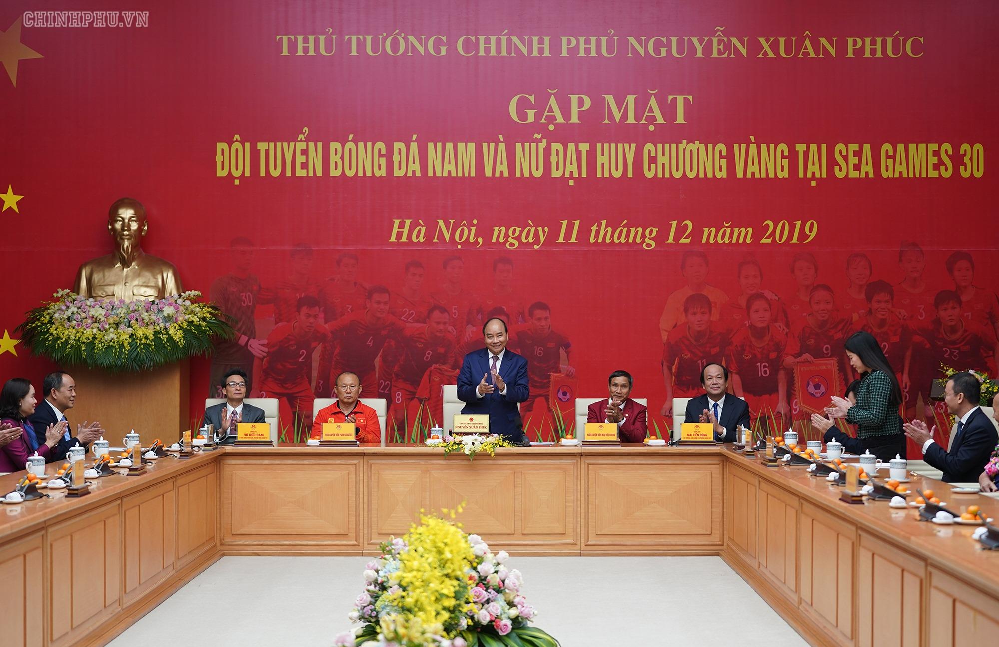 THỜI SỰ 21H30 ĐÊM 11/12/2019: Thủ tướng Nguyễn Xuân Phúc gặp mặt Đội tuyển bóng đá nam và nữ đạt huy chương vàng tại Seagame 30