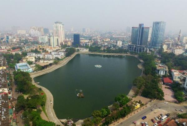 Tiếp tục đề xuất lấp hồ Thành Công để xây chung cư (25/12/2019)