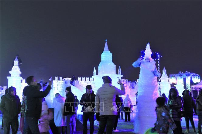 Nga: độc đáo lễ hội băng ở Moskva (30/12/2019)