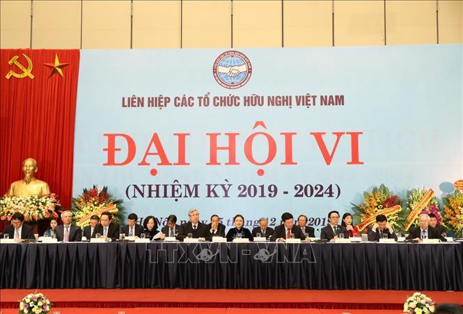 THỜI SỰ 12H00 TRƯA 5/12/2019: Khai mạc Đại hội đại biểu toàn quốc lần thứ 6, nhiệm kỳ 2019-2024 Liên hiệp các tổ chức hữu nghị Việt Nam