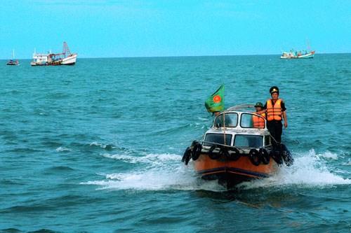 Đảm bảo an ninh trên biển dịp cận Tết Nguyên đán (26/12/2019)