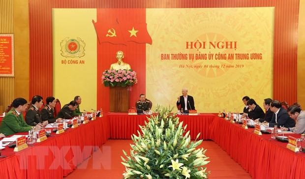 THỜI SỰ 18H CHIỀU 4/12/2019: Tổng bí thư, Chủ tịch nước Nguyễn Phú Trọng dự Hội nghị Ban thường vụ Đảng ủy công an Trung ương.