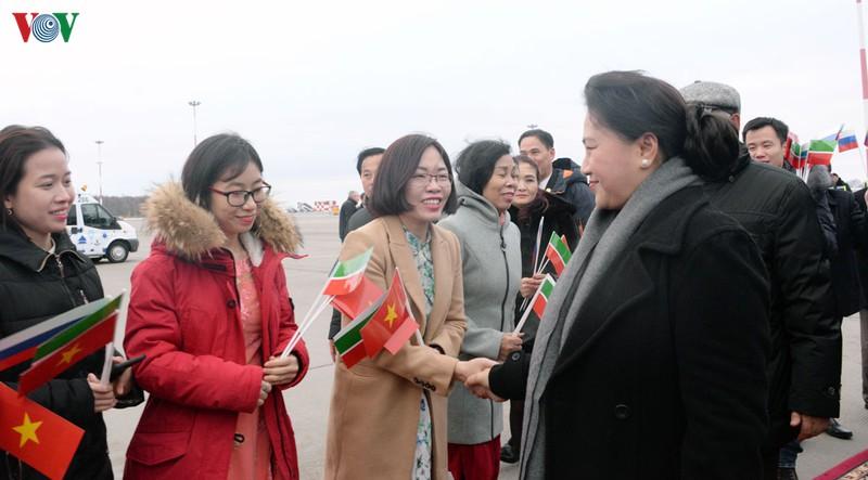 THỜI SỰ 6H SÁNG 9/12/2019: Chủ tịch Quốc hội Nguyễn Thị Kim Ngân tiếp Chủ tịch Hội đồng Nhà nước Tatarstan (trong thành phần LB Nga) và gặp gỡ bà con kiều bào tại thành phố Kazan.