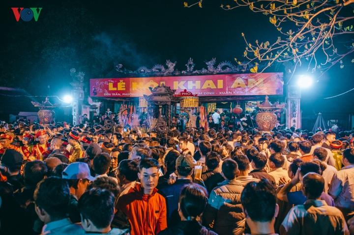 Khai ấn đền Trần Nam Định Xuân Kỷ hợi 2019 (Thời sự sáng 19/2/2019)