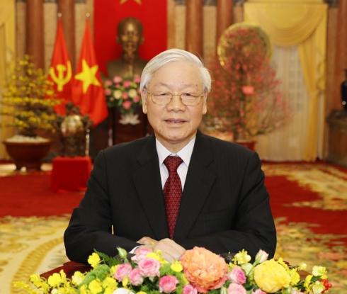 Tổng Bí thư, Chủ tịch nước Nguyễn Phú Trọng chúc Tết đồng bào, chiến sỹ và kiều bào ta ở nước ngoài (Thời sự sáng 5/2/2019)
