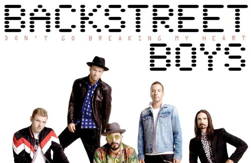 Lễ ra mắt album mới nhân kỷ niệm 25 năm ca hát của ban nhạc Backstreet Boys (1/2/2019)