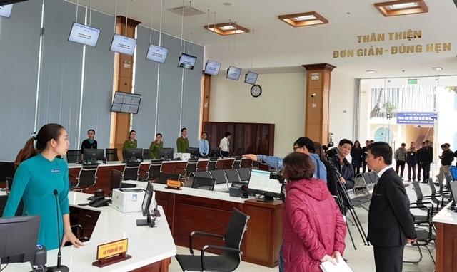 Trung tâm dịch vụ hành chính công tỉnh Thừa Thiên, Huế: Thân thiện, đơn giản, đúng hẹn (21/2/2019)