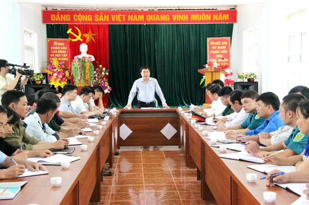 Nêu gương - Nói đi đôi với làm ở Thường vụ Tỉnh ủy Hà Giang (28/2/2019)