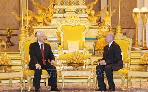 Tổng Bí thư, Chủ tịch nước Nguyễn Phú Trọng kết thúc tốt đẹp chuyến thăm cấp Nhà nước Vương quốc Campuchia (Thời sự chiều 26/2/2019)