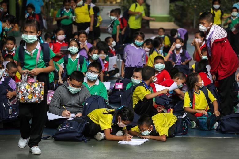 Ô nhiễm không khí tại Bangkok, Thái Lan (1/2/2019)