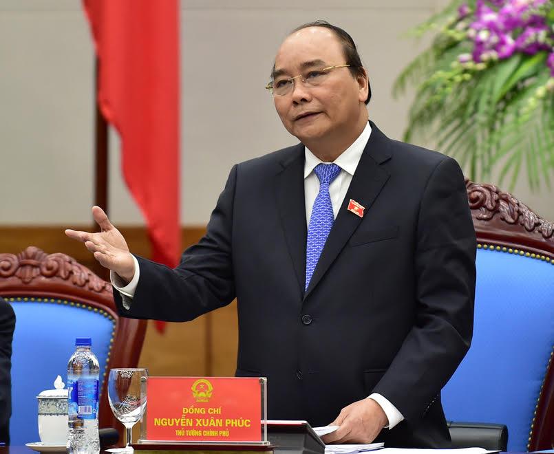 Thủ tướng Nguyễn Xuân Phúc yêu cầu các cơ quan, đơn vị bắt tay ngay vào công việc, thực hiện cho bằng được phương châm 12 chữ mà Chính phủ đề ra cho năm nay, đó là: