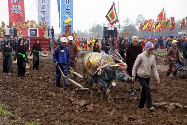 Lễ Tịch điền: Sá cày trọng nông cho năm mới (11/2/2019)
