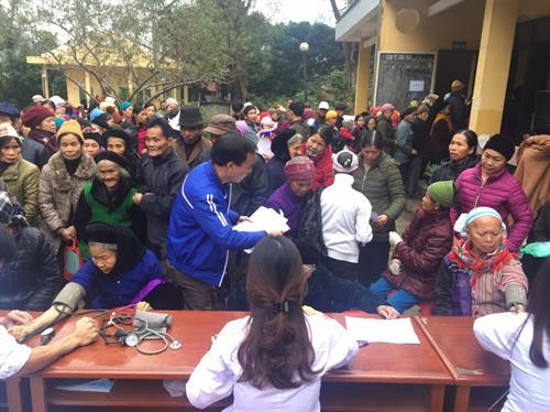 Bác sỹ trẻ tình nguyện và mùa xuân của đồng bào huyện Bảo Lạc, tỉnh Cao Bằng (4/2/2019)