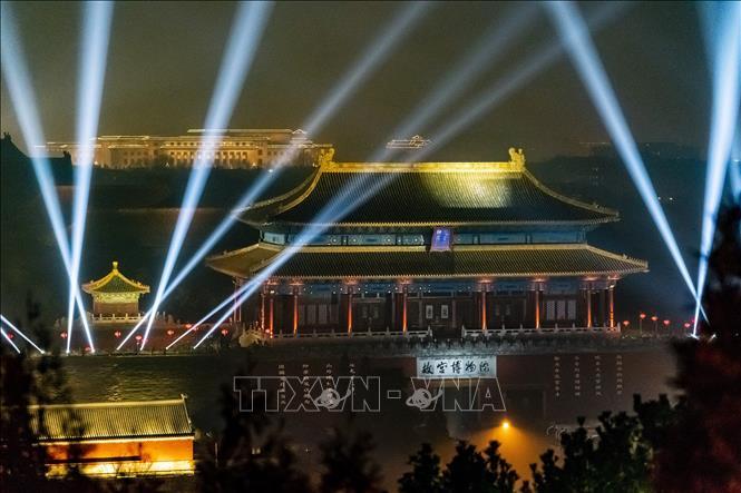 Lễ hội đèn lồng Tử Cấm Thành tại Bắc Kinh, Trung Quốc mở cửa miễn phí cho du khách vào ban đêm (20/2/2019)