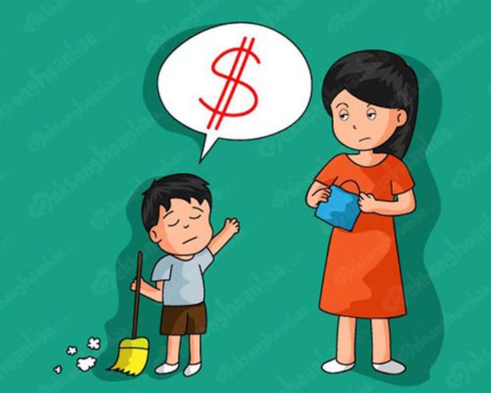 Trả tiền cho con làm việc nhà, nên hay không nên? (28/3/2019)