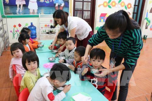 """60 trẻ nhiễm sán lợn trong vụ thịt lợn """"bẩn"""" ở Trường Mầm non Thanh Khương, tỉnh Bắc Ninh (16/3/2019)"""