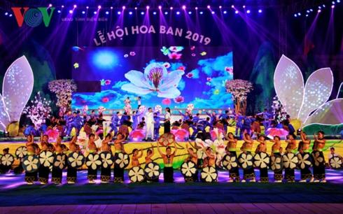Khai mạc Lễ hội hoa ban 2019, nhân kỷ niệm 65 năm chiến thắng Điện Biên Phủ (Thời sự đêm 16/3/2019)