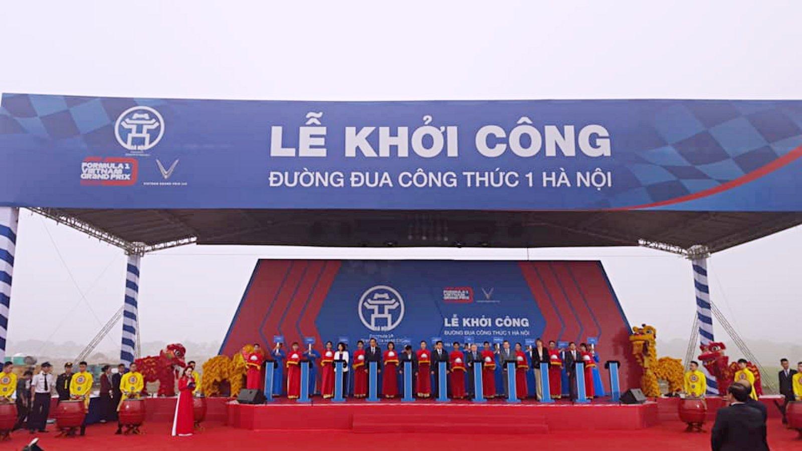 Đường đua công thức 1 Hà Nội chính thức được khởi công sáng nay: Cơ hội nào cho Hà Nội khi đăng cai giải đua xe công thức 1? (20/3/2019)