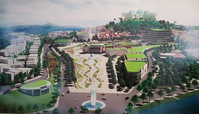 Đồ án quy hoạch trung tâm Hòa Bình quá xa lạ với Đà Lạt (18/3/2019)