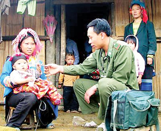 Những người lính quân hàm xanh cống hiến sức trẻ vì biên cương, biên giới của Tổ quốc (2/3/2019)