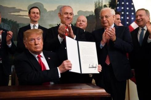 """Mỹ tạo """"tiền lệ xấu"""" khi bênh vực Israel (26/3/2019)"""