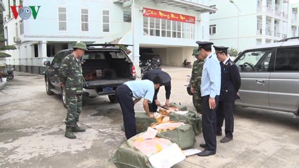 """Lạng Sơn: Cấp bách ngăn chặn nhập lậu thực phẩm """"bẩn"""" từ thịt lợn (28/3/2019)"""