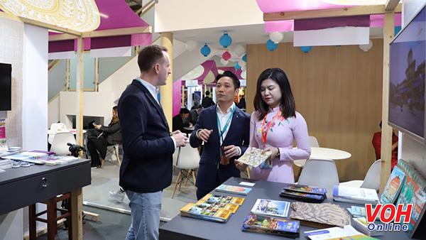 Tổng cục Du lịch và Sở Du lịch thành phố Hồ Chí Minh giới thiệu, quảng bá, xúc tiến du lịch Việt Nam và thành phố Hồ Chí Minh tại Pháp (18/3/2019)