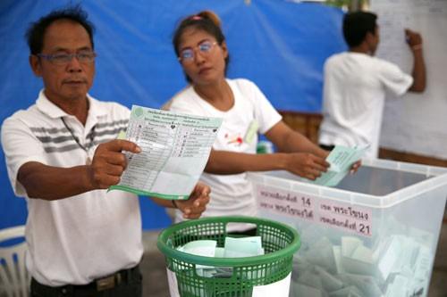 Kết quả sơ bộ vừa được công bố trong cuộc tổng tuyển cử ở Thái Lan diễn ra hôm qua (25/3/2019)