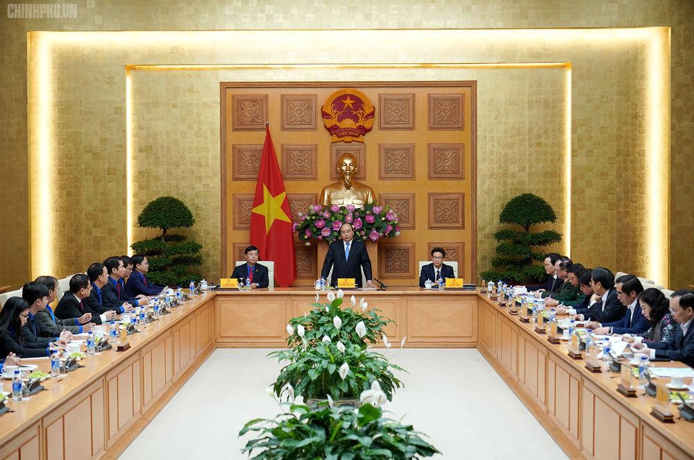 Thủ tướng làm việc với Trung ương Đoàn Thanh niên Cộng sản Hồ Chí Minh (Thời sự trưa 20/3/2019)