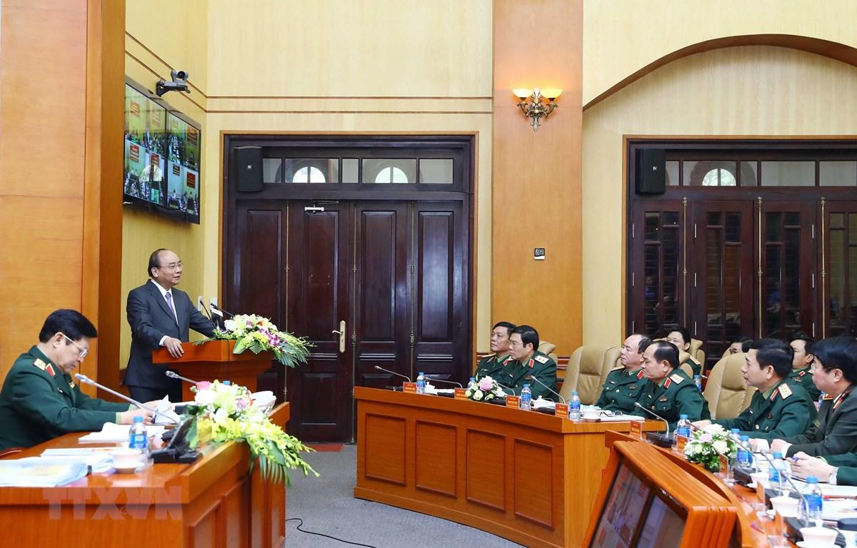 Thủ tướng Nguyễn Xuân Phúc: Không vì kinh tế mà coi nhẹ nhiệm vụ quốc phòng (Thời sự chiều 14/3/2019)