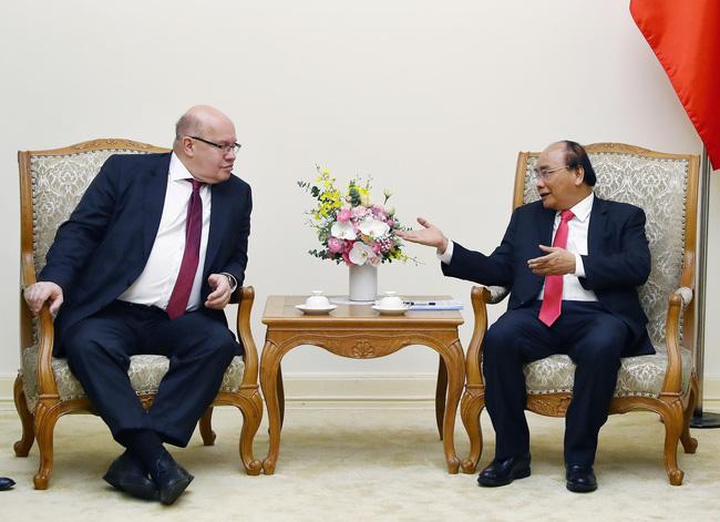 Thủ tướng Nguyễn Xuân Phúc tiếp Bộ trưởng Kinh tế và Năng lượng Cộng hòa Liên bang Đức (Thời sự đêm 25/3/2019)