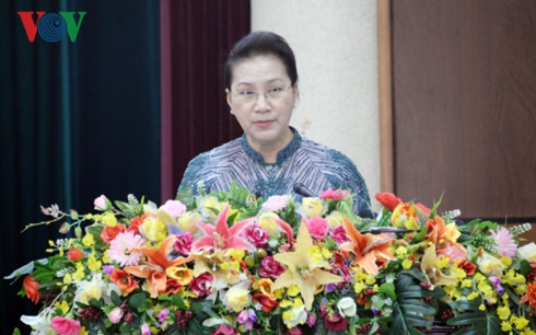 Chủ tịch Quốc hội Nguyễn Thị Kim Ngân dự Hội nghị tổng kết 10 năm thực hiện Quyết tâm thư của già làng các dân tộc Tây Nguyên (Thời sự trưa 19/3/2019)