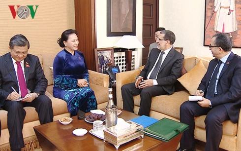 Chủ tịch Quốc hội hội kiến Thủ tướng Maroc và tiếp Chủ tịch Hội hữu nghị Maroc - Việt Nam (Thời sự sáng 29/3/2019)