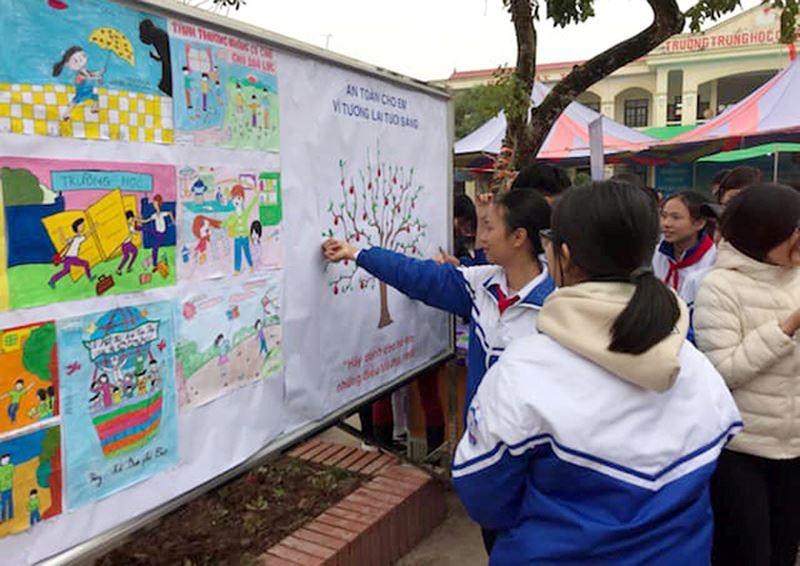 Tăng cường kỹ năng cho học sinh nhận biết cũng như các cách phòng chống bạo lực xâm hại (11/3/2019)