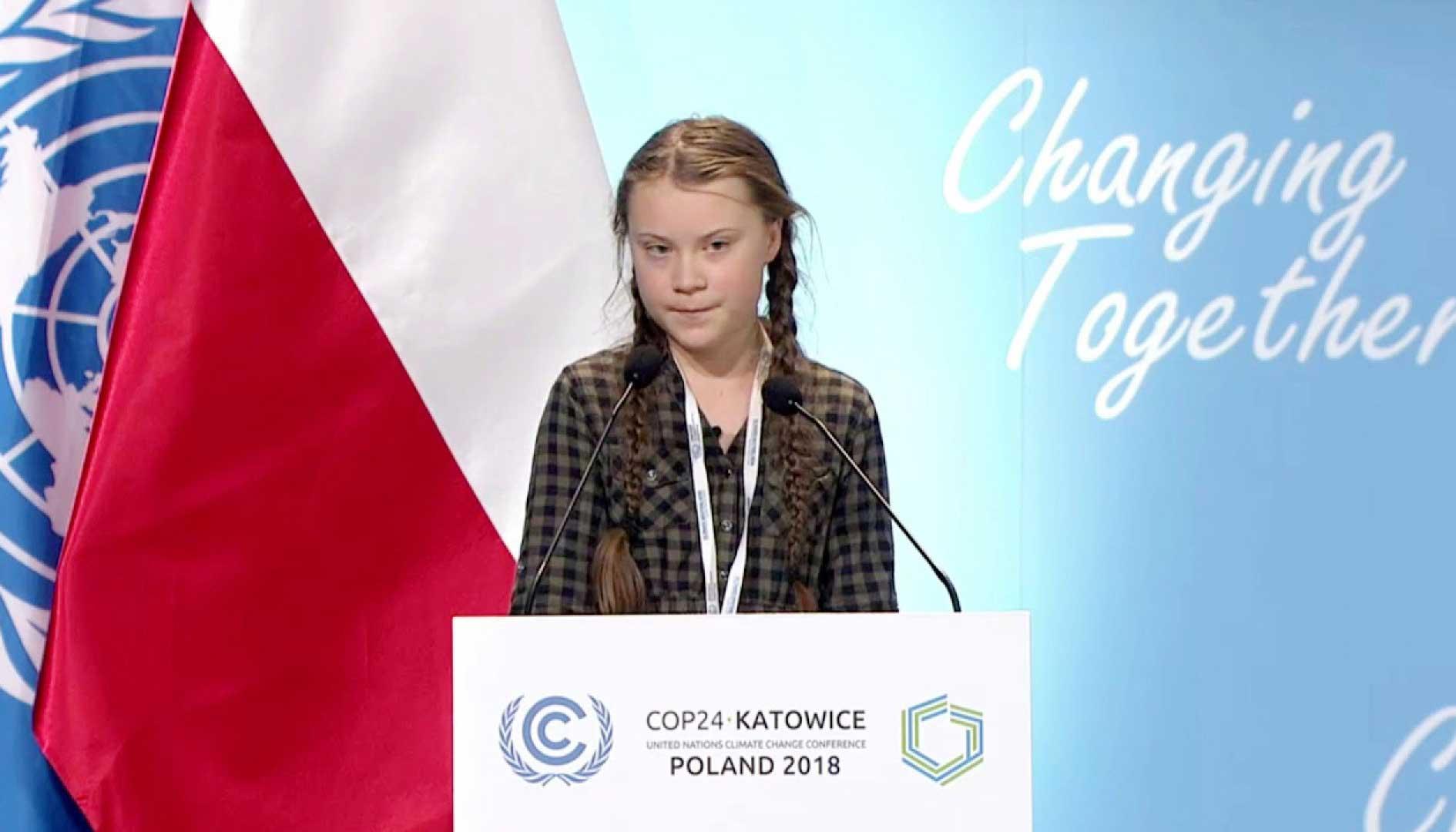 Cô bé Thụy Điển Greta Thunberg nhận giải thưởng truyền hình Đức vì sự cống hiến để bảo vệ môi trường (1/4/2019)