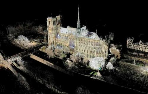 Hình ảnh 3 chiều, in 3D, vật liệu mới... sẽ được huy động để trợ giúp quá trình phục dựng Nhà thờ Đức Bà Paris (19/4/2019)