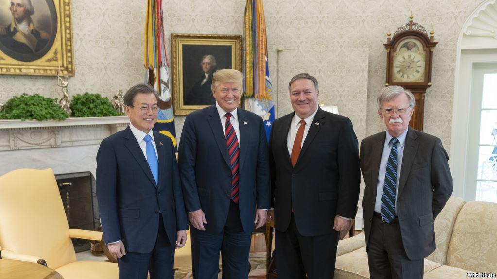 Nỗ lực khởi động lại đàm phán Mỹ - Triều khi Tổng thống Hàn Quốc thăm Mỹ (12/4/2019)
