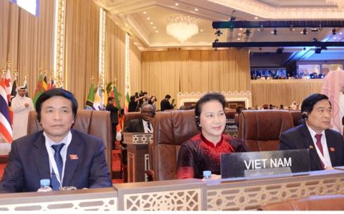 Chủ tịch Quốc hội Nguyễn Thị Kim Ngân  tham dự Đại Hội đồng lần thứ 140 Liên minh Nghị viện thế giới và các hội nghị liên quan tại Doha, Qatar (Thời sự sáng 7/4/2019)