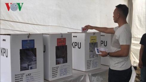 Indonesia bước vào cuộc bầu cử 1 ngày lớn nhất thế giới (17/4/2019)