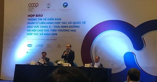 Khai mạc Diễn đàn pháp lý liên minh hợp tác xã quốc tế khu vực châu Á – Thái Bình Dương tại Thành phố Hồ Chí Minh (Thời sự sáng 17/4/2019)