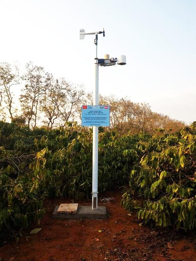 Hệ thống Trạm thời tiết thông minh iMetos giúp nông dân ứng phó kịp thời với biến đổi khí hậu (16/4/2019)