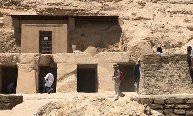 Ai Cập phát hiện một khu mộ cắt đá 3.500 năm tuổi tại Luxor (25/4/2019)