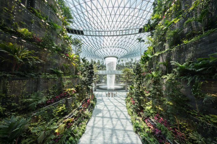 Chính phủ Singapore giới thiệu thác nước trong nhà cao nhất thế giới (16/4/2019)